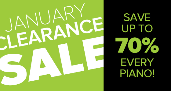 Piano Clearance Sale